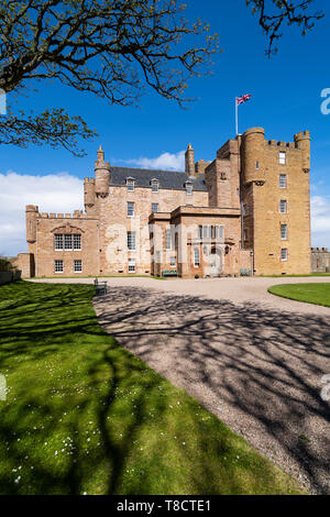 Castle of Mey on the North Coast 500 scenic driving route in northern Scotland, UK - Stock Photo