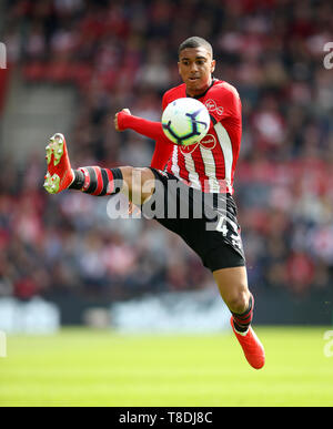Southampton's Yan Valery during the Premier League match at St Mary's Stadium, Southampton. - Stock Photo