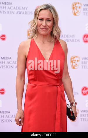 London, UK. 12th May, 2019. LONDON, UK. May 12, 2019: Sophie Raworth arriving for the BAFTA TV Awards 2019 at the Royal Festival Hall, London. Picture: Steve Vas/Featureflash Credit: Paul Smith/Alamy Live News - Stock Photo