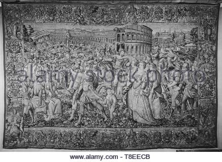Heemskerck, Marten van (Netherlandish (before 1600) - North Netherlands, 1498-1574) (designed after) [printmaker] br Tempesta, Antonio (Italian, 1555-1630) (designed after) [printmaker] br Guebels, Jacques I (Nether - Stock Photo
