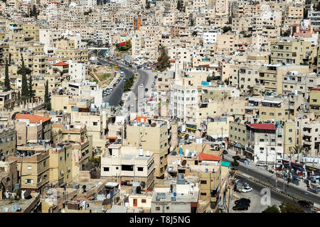 Cityscape, Amman, Jordan - Stock Photo