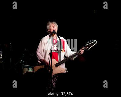 Bass player Martin Turner ex Wishbone Ash - Stock Photo