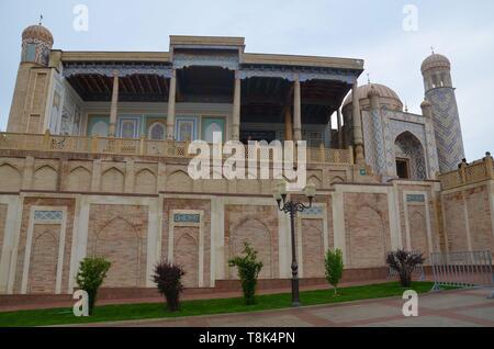 Samarkand, UNESCO Weltkulturerbe in Usbekistan: die Hasret Hisr Moschee - Stock Photo