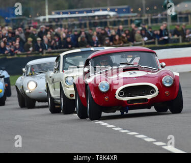 Martin Stretton, Michael Hinderer, AC Cobra, Graham Hill Trophy, Closed cockpit GT cars, Prototype cars, Spirit of the RAC TT Races 1960-1964, 77th Me - Stock Photo