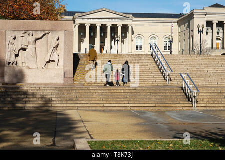 District of Columbia Court of Appeals in Judiciary Square. Washington D.C.USA - Stock Photo