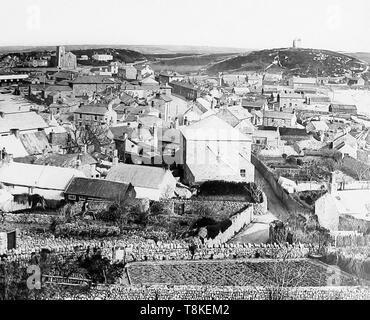 Hugh Town, Scilly Isles - Stock Photo