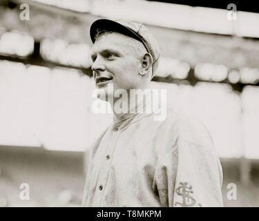 Dan Griner, St. Louis Cardinals, 1914. - Stock Photo