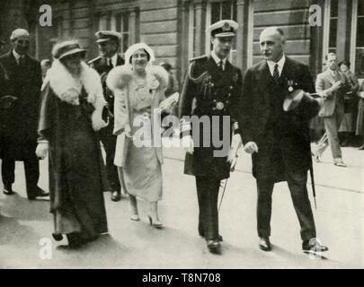 'Their Majesties at Edinburgh During the Jubilee Celebrations of King George V' 1935, 1937. Creator: Unknown.
