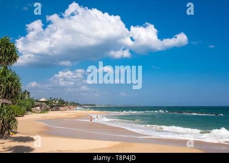 Sri Lanka, Southern province, Tangalle, Medaketiya beach - Stock Photo