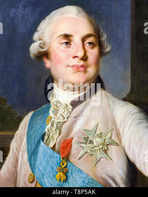 Portrait of Louis XVI, King of France, c. 1777 RKM - Stock Photo