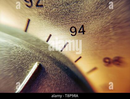 Detail of the scale of an analog radio | usage worldwide