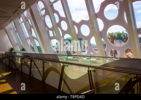 Elements of modern interior design and architecture.