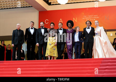 Cannes. 14th May, 2019. The Jury arrives to the premiere of 'THE DEAD DON'T DIE ' during the 2019 Cannes Film Festival on May 14, 2019 at Palais des Festivals in Cannes, France. ( Credit: Lyvans Boolaky/Image Space/Media Punch)/Alamy Live News - Stock Photo