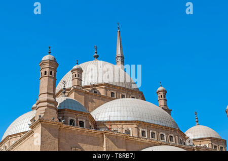 Mosque of Muhammad Ali Pasha Cairo Egypt located is the Citadel of Salah El Din (Saladin) Citadel in Cairo Egypt - Stock Photo