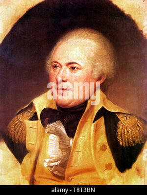 James Wilkinson (1757 – 1825) American soldier and statesman, painting by Charles Willson Peale - Stock Photo