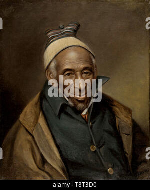 Yarrow Mamout (1736 – 1823), former slave, entrepreneur, and property owner in Georgetown, USA. Portrait of Yarrow Mamout (Muhammad Yaro), 1819 by Charles Willson Peale - Stock Photo