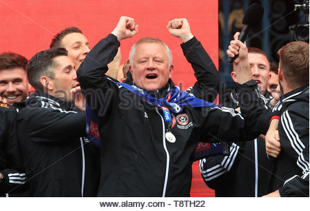 File photo dated 07-05-2019 of Sheffield United manager Chris Wilder. - Stock Photo