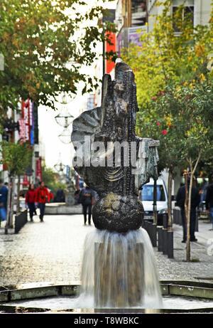 Fountain in Athens. Greece - Stock Photo