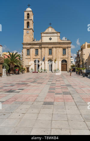 Orthodox church of presentation of the Lord in Chania on Crete - Stock Photo