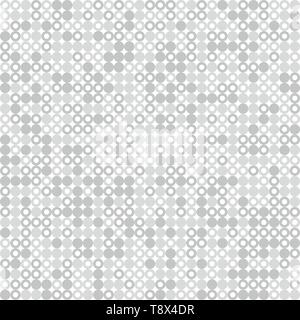 Abstract gray and white circle pattern design decoration background. You can use for background, ad, poster, artwork. illustration vector eps10 - Stock Photo