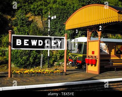 Bewdley Station - Stock Photo