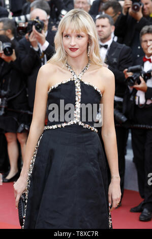Cannes, France. 14th May, 2019. Angele attending the opening ceremony and screening of 'The Dead Don't Die' during the 72nd Cannes Film Festival at the Palais des Festivals on May 14, 2019 in Cannes, France | usage worldwide Credit: dpa/Alamy Live News - Stock Photo