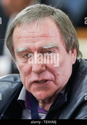 Sochi, Russia. 15th May, 2019. SOCHI, RUSSIA - MAY 15, 2019: Sergei Roldugin, Artistic Director of the St Petersburg House of Music, attends the inaugural meeting of the Sochi Dialogue Forum. Mikhail Metzel/TASS Credit: ITAR-TASS News Agency/Alamy Live News - Stock Photo