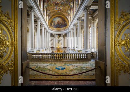 Royal Chapel in Versailles palace - Stock Photo