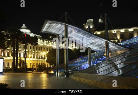 Icheri Sheher metro station in Baku. Azerbaijan - Stock Photo