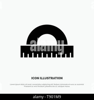 Design, Drawing, Education, Geometry solid Glyph Icon vector - Stock Photo