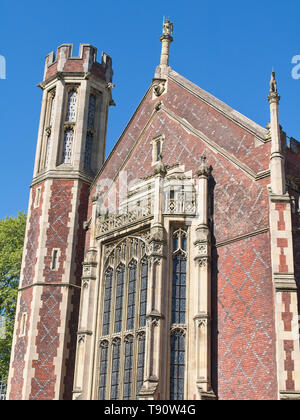 The Library of The Honourable Society of Lincoln's Inn. Victorian architecture in London, UK. - Stock Photo