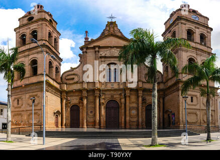 front view of Cathedral of Santa Cruz de la Sierra, Bolivia - Stock Photo