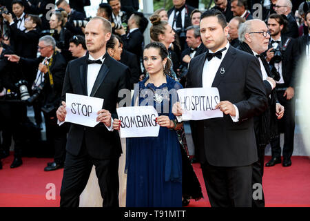 Cannes. 15th May, 2019. Guests arrives to the premiere of ' LES MISÉRABLES ' during the 2019 Cannes Film Festival on May 15, 2019 at Palais des Festivals in Cannes, France. ( Credit: Lyvans Boolaky/Image Space/Media Punch)/Alamy Live News - Stock Photo