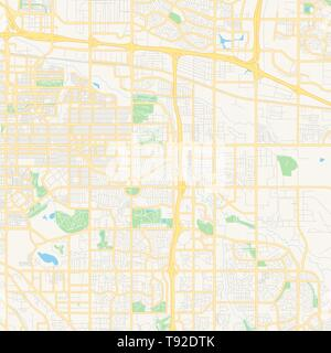 Modern City Map - Aurora Colorado city of the USA Stock ...