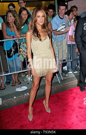 New York, USA. 22 June, 2007. Maggie Q at the the premiere of Live Free or Die Hard at Radio City Music Hall. Credit: Steve Mack/Alamy - Stock Photo