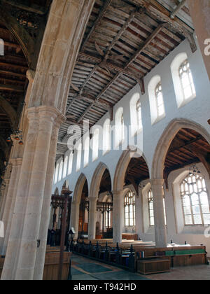 Holy Trinity Church in Blythburgh, Suffolk - Stock Photo