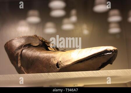 Erasmus shoe from Rotterdam - Stock Photo