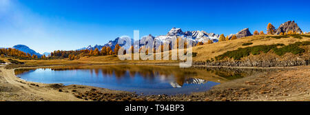 Landscape of Alpe Devero Valley - Stock Photo