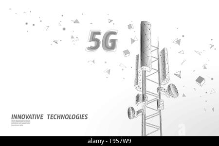 3d base station receiver  telecommunication tower 4g