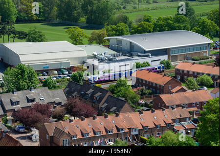 Beverley Leisure Centre, Beverely, East Yorkshire - Stock Photo
