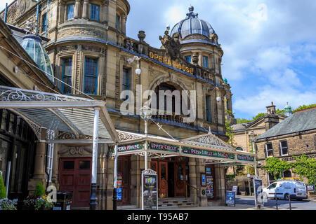 Buxton Opera House, Peak District, National Park, Derbyshire, England, UK, GB - Stock Photo