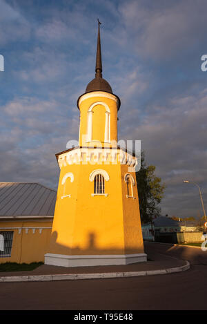 Tower in the center of the Kremlin of Kolomna, Region of Moscow, Russia - Stock Photo