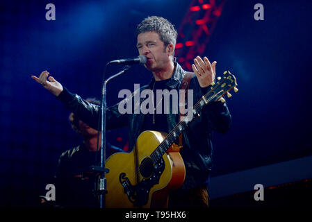 Rome, Italy. 01st May, 2019. Noel Gallagher's performance Credit: Independent Photo Agency/Alamy Live News - Stock Photo