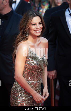 Cannes, France. 16th May, 2019. CANNES, FRANCE - MAY 17: Eva Longoria attends the screening of 'Rocketman' during the 72nd annual Cannes Film Festival on May 16, 2019 in Cannes, France. (Photo by Oleg Nikishin/TASS) Credit: ITAR-TASS News Agency/Alamy Live News - Stock Photo