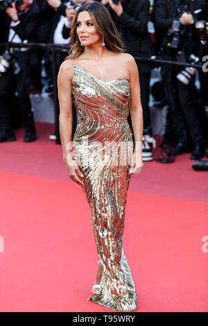Cannes. 16th May, 2019. Eva Longoria arrives to the premiere of ' ROCKETMAN ' during the 2019 Cannes Film Festival on May 16, 2019 at Palais des Festivals in Cannes, France. ( Credit: Lyvans Boolaky/Image Space/Media Punch)/Alamy Live News - Stock Photo
