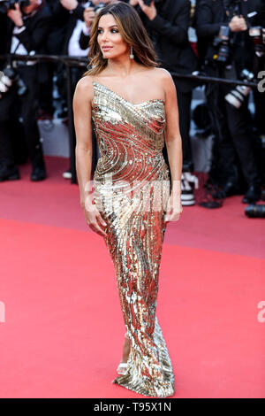 Cannes, France. 16th May, 2019. CANNES - MAY 16: Eva Longoria arrives to the premiere of ' ROCKETMAN ' during the 2019 Cannes Film Festival on May 16, 2019 at Palais des Festivals in Cannes, France. (Photo by Lyvans Boolaky/imageSPACE) Credit: Imagespace/Alamy Live News - Stock Photo