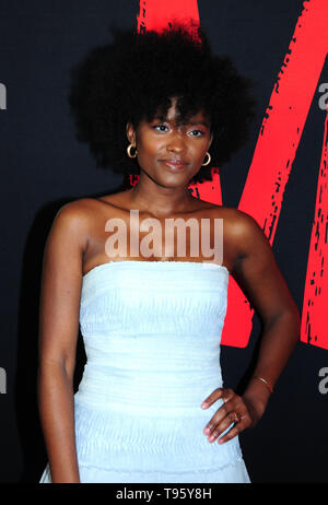 Los Angeles, California, USA 16th May 2019  Actress Tanyell Waivers attends Universal Pictures Presents A Special Screening of 'Ma' on May 16, 2019 at Regal L.A. Live in Los Angeles, California, USA. Photo by Barry King/Alamy Live News - Stock Photo