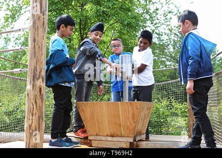 The Children's Garden Kew Royal Garden 16 May 2019 - Stock Photo