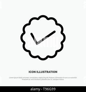 Chat, Media, Message, Social, Twitter Line Icon Vector