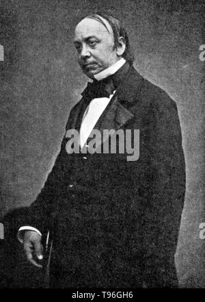 Edwin Chadwick (January 24, 1800 - July 6, 1890) was an English social reformer who is noted for his work to reform the Poor Laws and to improve sanitation and public health. Chadwick's Report on The Sanitary Condition of the Labouring Population of Great Britain,  begun in 1839 and published in 1842, was researched and published at his own expense. A supplementary report was also published in 1843. - Stock Photo